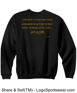 GET A JOB-MENS-MEANINGFUL THOUGHTS COLLECTION Design Zoom