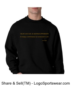 Treat Each Day-Mens-Meaningful Thoughts Design Zoom