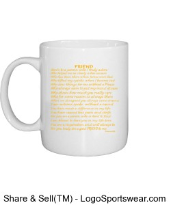 FRIEND MUG- Meaningful Thoughts Design Zoom